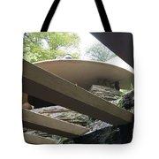Carport Fallingwater Frank Lloyd Wright Architect  Tote Bag