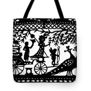 Carriage & Peacocks Tote Bag