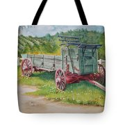 Carriage  Tote Bag