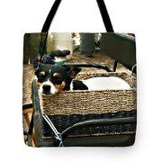 Carriage Dog Tote Bag