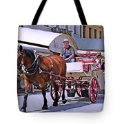 Carriage Through The City Tote Bag