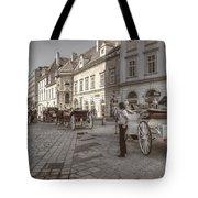 Carriages Back To Stephanplatz Tote Bag