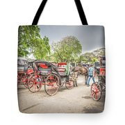 Carriages Tote Bag