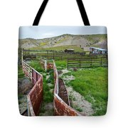 Carrizo Plain National Monument Ranch Tote Bag