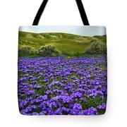 Carrizo Plain National Monument Wildflowers Tote Bag