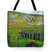 Carrizo Plain Ranch Wildflowers Tote Bag