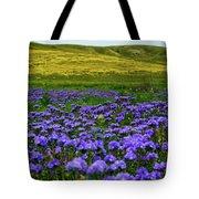 Carrizo Plain Wildflowers Tote Bag