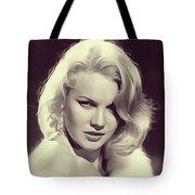 Carrol Baker, Vintage Actress Tote Bag