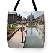 Carroll Creek Park In Frederick Maryland Tote Bag