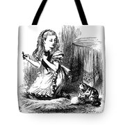 Carroll: Looking Glass Tote Bag