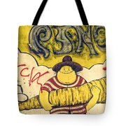 Carrot In Arms Tote Bag