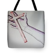 Carry Your Cross Tote Bag