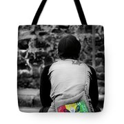 Carrying Colors Tote Bag