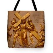 Carrying Cross Tote Bag