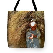 Carrying The Hay Tote Bag