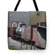 Cars Being Stored Tote Bag