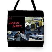 Cars From American Graffiti Tote Bag