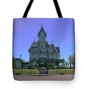 Carson Mansion Tote Bag