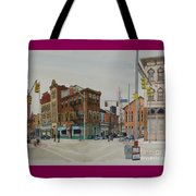 Carson Street Southside Pittsburgh Tote Bag