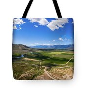 Carson Valley Panorama Tote Bag