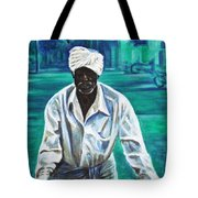 Cart Vendor Tote Bag
