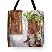 Cartagena Peddler I Tote Bag