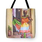 Cartegena Woman Tote Bag