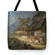 Carters With A Load Of Slate Tote Bag