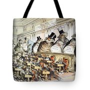 Cartoon: Anti-trust, 1889 Tote Bag