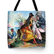 Cartoon: Cuba, 1895 Tote Bag