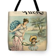Cartoon: Cuba, 1902 Tote Bag