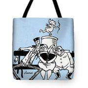 Cartoon: Germany Divided Tote Bag