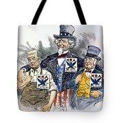 Cartoon: New Deal, 1933 Tote Bag