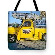 Cartoon Truck Tote Bag