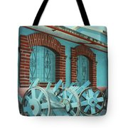 Carts And Door Tote Bag