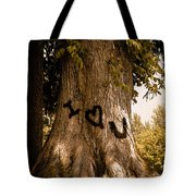 Carve I Love You In That Big White Oak Tote Bag