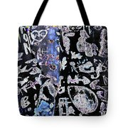 Carved Birch Trees Tote Bag
