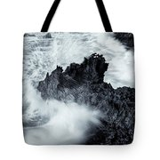 Carved By The Sea Tote Bag