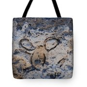 Carved Catface Tote Bag