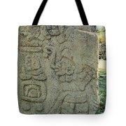 Carved Danzantes Stone Tote Bag