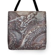 Carved Dragon Tote Bag
