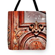 Carved Entry Tote Bag