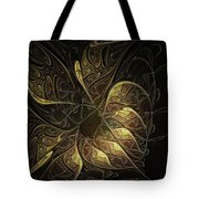 Carved In Gold Tote Bag