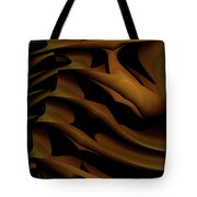 Carved In Wood Tote Bag