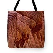Carved Wave. Tote Bag