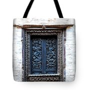 Carved Window Shutters Tote Bag
