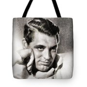 Cary Grant, Hollywood Legend By John Springfield Tote Bag