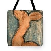 Caryatid Tote Bag by Amedeo Modigliani