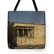 Caryatids Of The Erechtheum Tote Bag