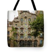 Casa Batllo In Barcelona, Spain Tote Bag